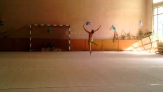 Самая красивая гимнастка