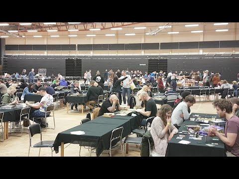 Live From Stockholm Tabletop Game Expo!
