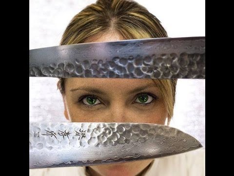 Sakai Takayuki coltelli da cucina artigianali giapponesi - YouTube