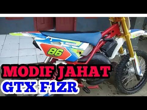 Modifikasi Yamaha F1ZR Trail Grasstrack  Cocok Buat Adventure atau Trabas