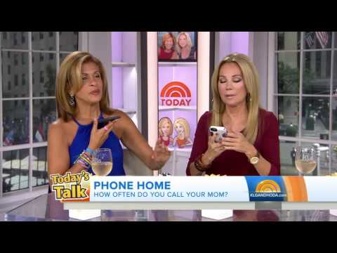 Kathie Lee and Hoda call their moms live on air