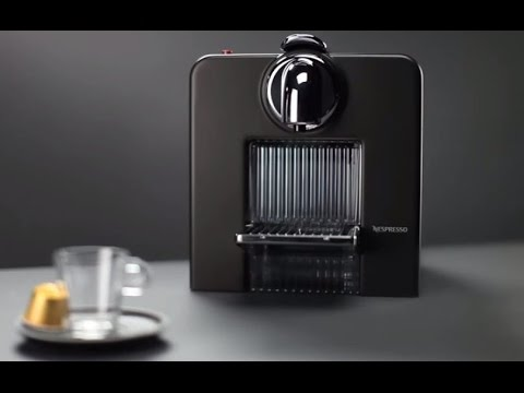 Nespresso Le Cube Directions For Use Youtube