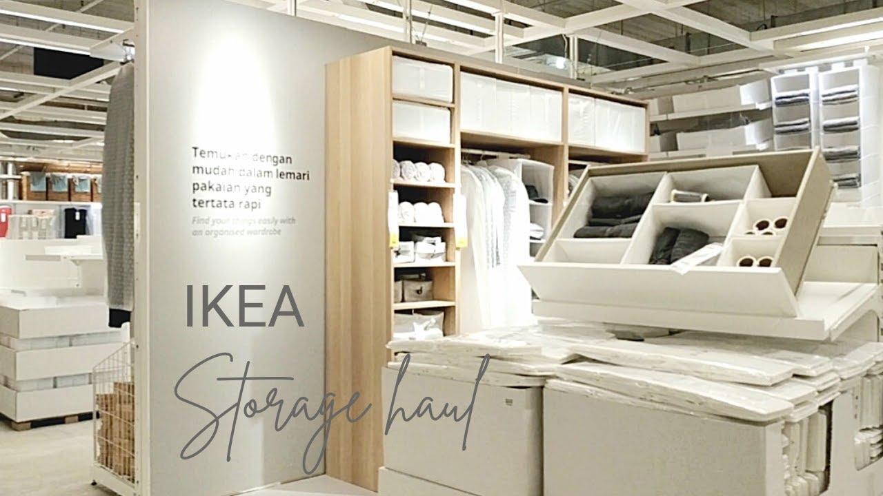 IKEA STORAGE HAUL | IKEA MUST HAVE STORAGE ITEMS!!!