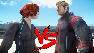 HAWKEYE VS BLACK WIDOW - EPIC BATTLE