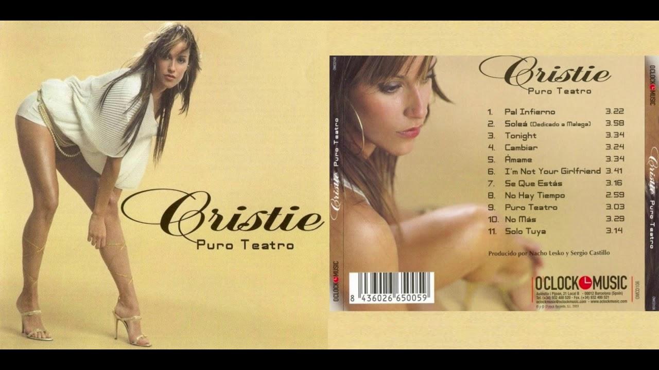 Cristie – Puro Teatro (Cd Album)