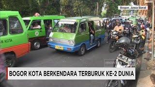 Bogor, Kota Berkendara Terburuk Ke-2 Dunia