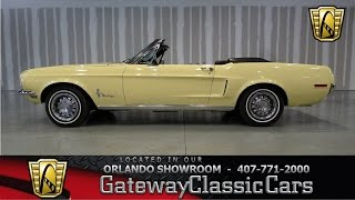 1968 Ford Mustang Gateway Classic Cars Orlando #376