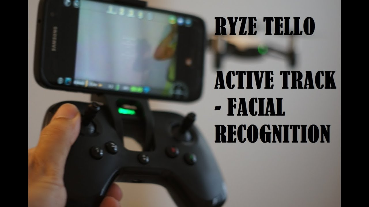 DJI TELLO-How to use ACTIVE TRACK / Face Recognition ( Easy