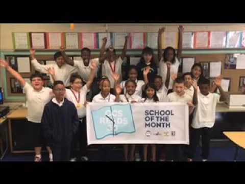 Murphey Traditional Academy is a GCS Reads 30 School of the Month!