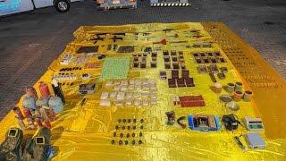 الداخلية البحرينية تكشف مخبأ للمتفجرات تحت الأرض