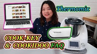 Thermomix Cook Key and Cookidoo FAQ|美善品的新配件與專屬食譜資料庫 【euniceliciousTV】