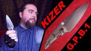 """Нож Kizer G.P.B.1 - """"карманная зверюга"""""""
