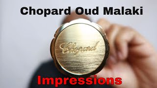 Chopard Oud Malaki: One of the best Oriental Fragrances Note for Note