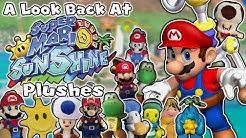 A Look Back At Super Mario Sunshine Plushes!
