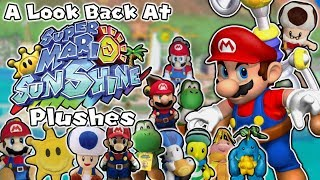A Look Back At Super Mario Sunshine Plushes!