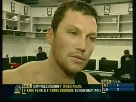 Sean Avery - Expert on French-Canadians, toughness