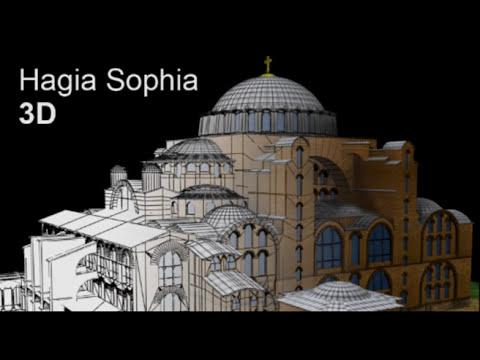 Hagia Sophia 3D - YouTube