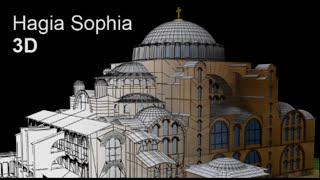 Hagia Sophia 3D
