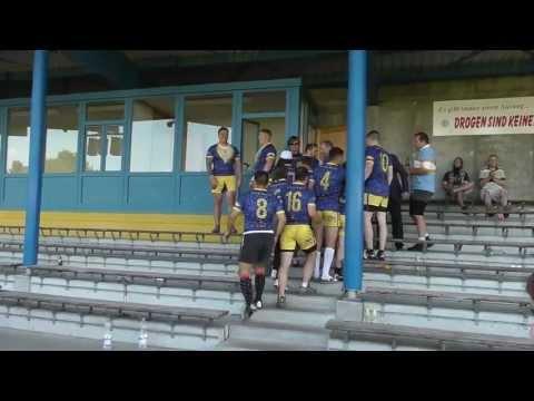 Memmingen Sevens Cup Final '13 -  Bad Reichenhall Vs. Illesheim All Night Mustache Rides