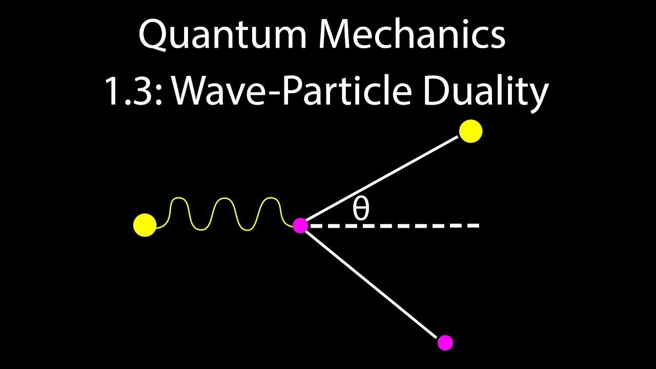 quantum mechanics 1 3 wave particle duality [ 1280 x 720 Pixel ]