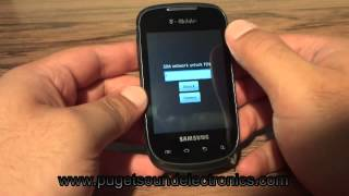 How to unlock T-Mobile Samsung T499 Dart