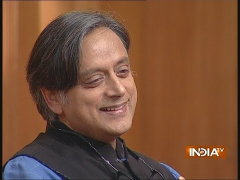 "Shashi Tharoor in Aap ki Adalat: Here's what he said on his ""Hindu Pakistan"" remark"
