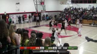 Monte Vista vs San Ramon Valley High School Boys Basketball FULL GAME LIVE 1/17/17