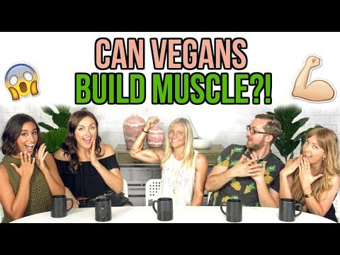 CAN VEGANS BUILD MUSCLE?!