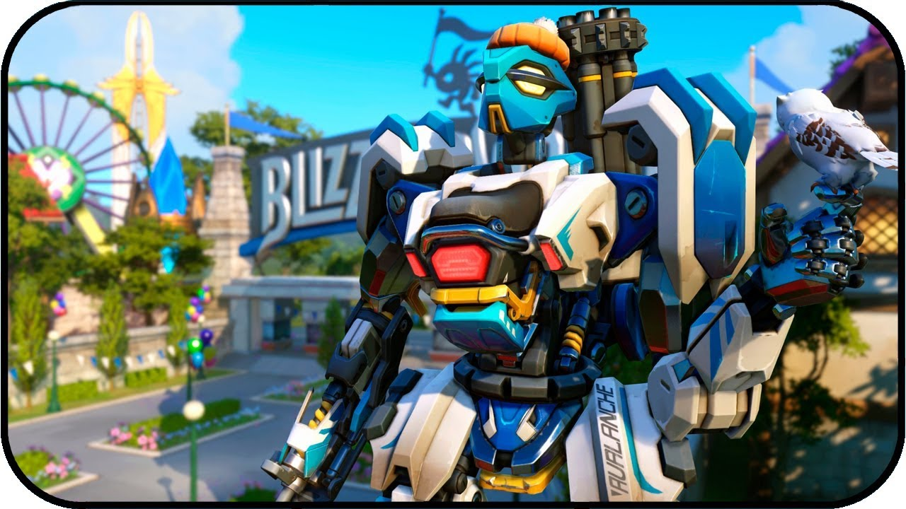 Overwatch bastion avalanche animated wallpaper 4k 60fps youtube - Bastion wallpaper ...