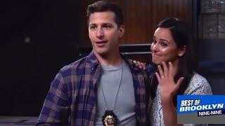 Amy and Jake THE PROPOSAL  (Brooklyn Nine-Nine s05e04)
