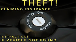 THEFT! CLAIMING INSURANCE FOR STOLEN BIKE | HOW TO CLAIM INSURANCE FOR STOLEN CAR/BIKE EXPLAINED