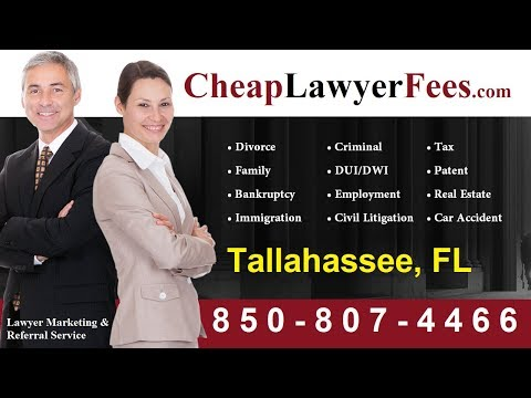 Cheap Lawyer Fees Tallahassee FL
