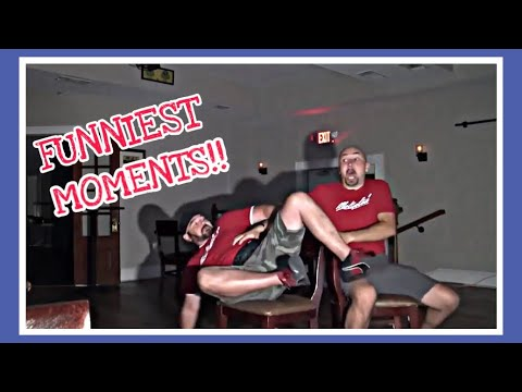 GHOST HUNTING GONE WRONG!!! ****FUNNIEST MOMENTS PT. 1***