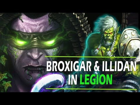 Why Was Broxigar So Kind to Illidan in Legion?? - World of Warcraft Lore
