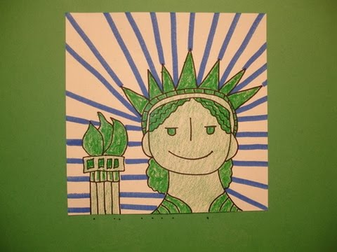 lets draw the statue of liberty youtube