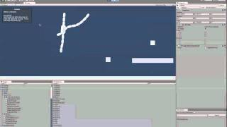 swinging 2D rope in Unity3D game engine