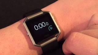 Fitbit Blaze Walkthrough