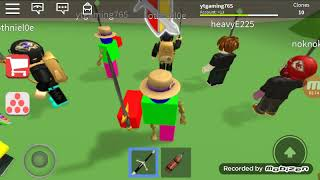 Roblox lets play on clone crusader | ROBLOX