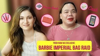Push Now Na Exclusive: Barbie Imperial's bag raid