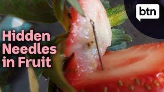 Hidden Needles Found in Australian Strawberries - Behind the News