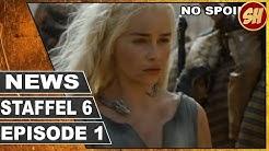 GAME OF THRONES STAFFEL 6 FOLGE 1 | DEUTSCHE AUSSTRAHLUNG | Serien News | Serienheld