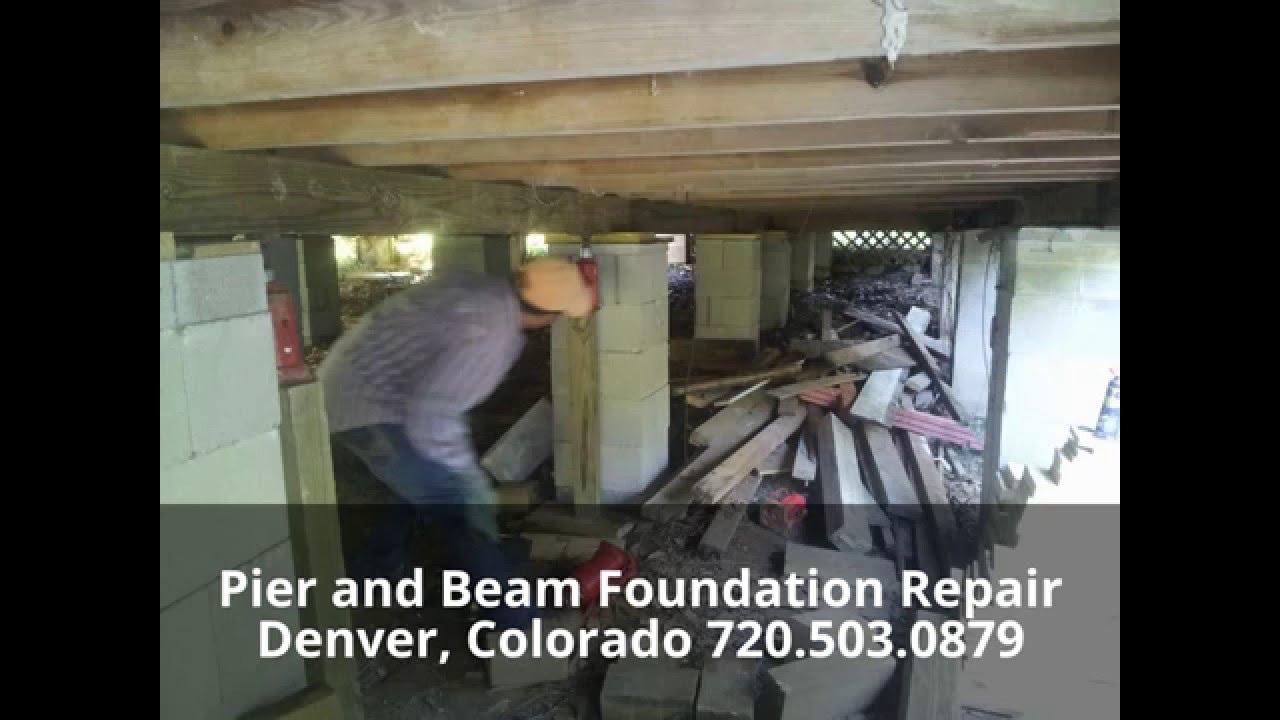 Crawl Space Foundation Repair Denver Youtube