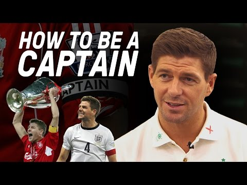 Steven Gerrard Reveals The Secret To Being A Captain