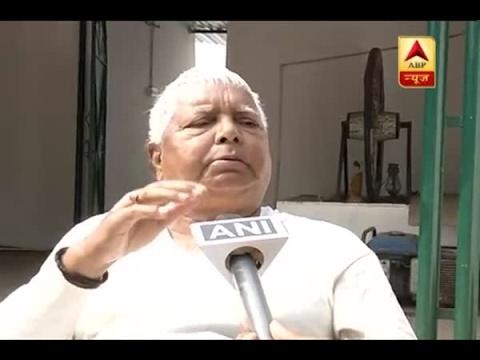 PM Modi is making below the belt remarks: Lalu Prasad Yadav on PM's kabristan-shamshaan co