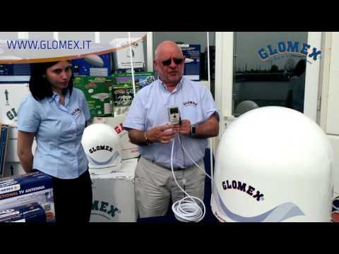 Rhea, Glomex marine satellite TV antenna - p.1