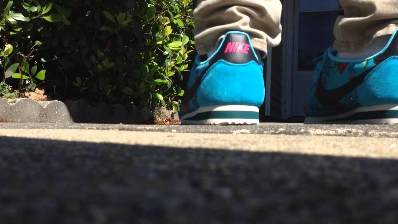 Nike Cortez On Feet