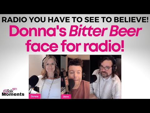 Donna's Bitter Beer Face
