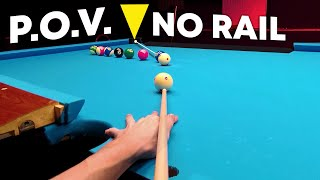 Playing Pool With Unscrewed Rails | POV GoPro View