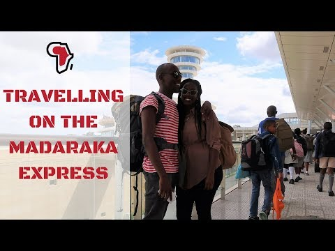 Travelling on the SGR (Madaraka Express) from Nairobi to Mombasa