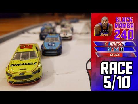 """NASCAR Stop Motion """"Black Mamba 240"""" Race 5/10"""